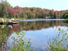 Lac aux bleuets in the fall