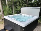 Private hot tub for 8 people