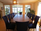 Large table for 12 guests