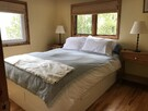 Room 1 Queen Bed. Lakeview