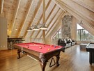 Games room at Le Draveur