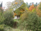 Roundwood cottage l'Inspiration and its fall colours