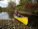Canoeing on Missisquoi River