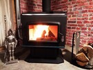 Brand New Wood-burning Stove for your cocooning evenings