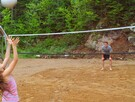 Terrain de volley-bal