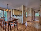 Dining room with seating for 10. Fully equipped kitchen to make a gourmet meal.
