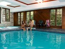Chalet Château for 16 to 24 people with private indoor pool
