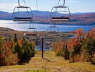 Ski station nearby - Fall view