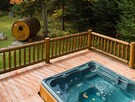 hot tube and sauna