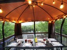 Dine under our Gazebo