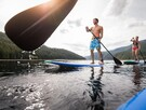 2 paddleboards disponibles sur place gratuitement