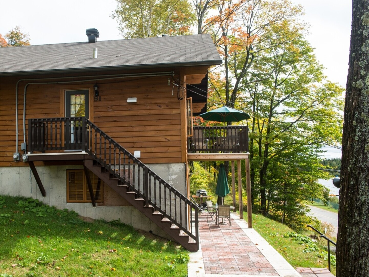 Cottage for rent royal luxury for 2 in sainte agathe for Chalet st agathe des monts piscine intrieur