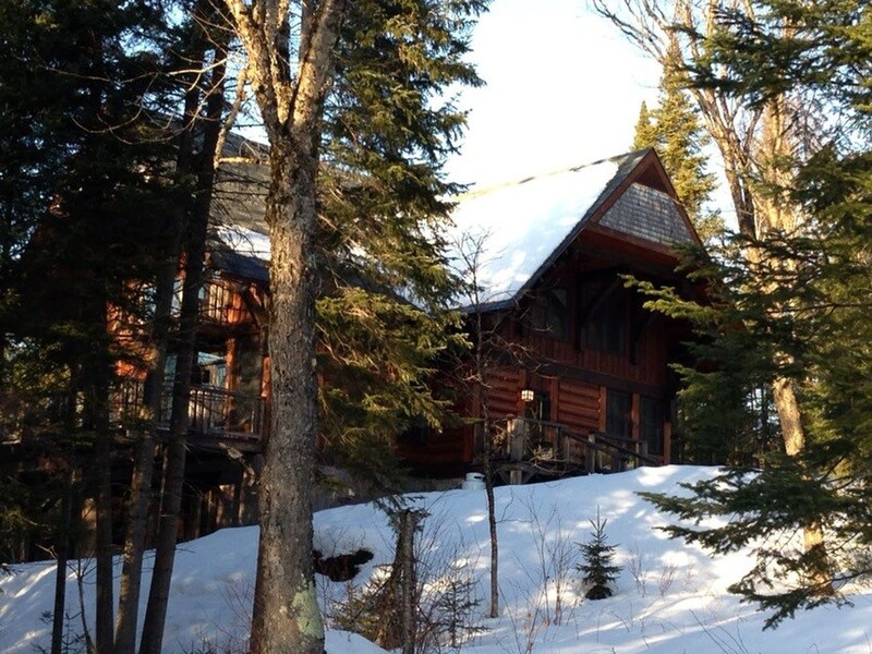 cottage for rent quot chalet on the lake quot in lac sup 233 rieur laurentians tremblant canada