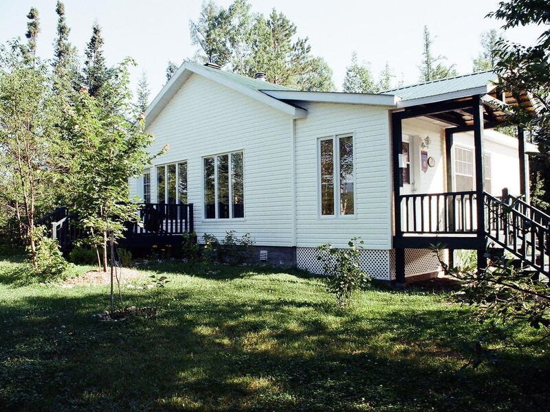 Exterior view of the Fortin Cottage.