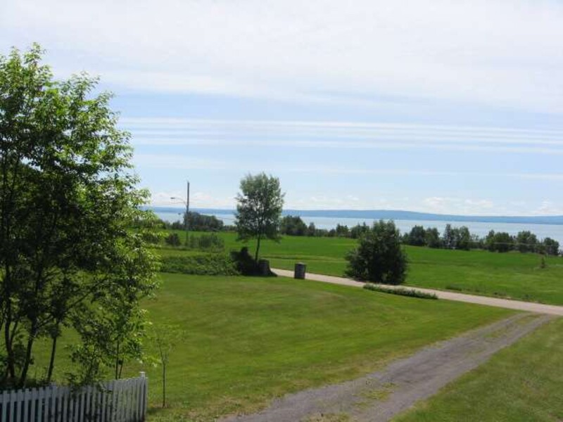 View of the St-Lawrence River