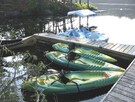 Kayak, canoe, electric motor launch and pedalboat rental